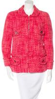 Marc Jacobs Single-Breasted Tweed Jacket