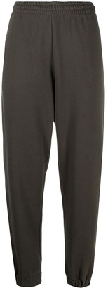 Rotate by Birger Christensen Organic Cotton Tapered Track Pants