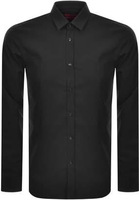 HUGO Elisha 02 Shirt Black