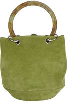 Edie Parker Olivia Small Suede Bucket Bag