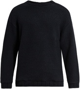 TOMORROWLAND Zip-detail wool-blend fleece sweater