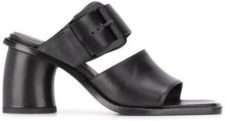 Ann Demeulemeester Buckle Mid-Heel Sandals