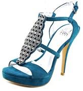Pelle Moda Fiby Open-toe Suede Heels.