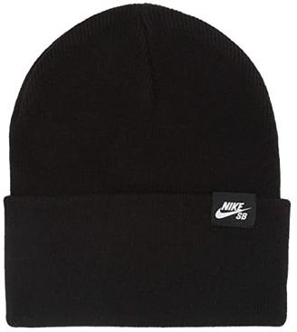 Nike SB Cap Utility Beanie (Black/White) Caps