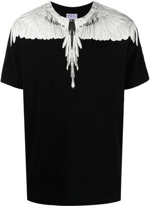 Marcelo Burlon County of Milan Wings-print crew neck T-shirt