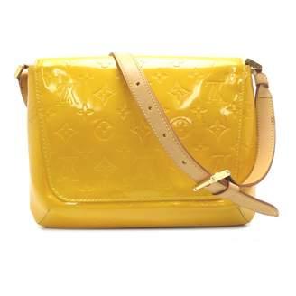 Louis Vuitton Thompson Yellow Patent leather Handbags
