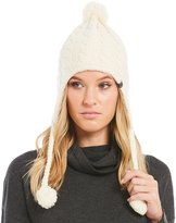 The North Face Fuzzy Earflap Pom Beanie