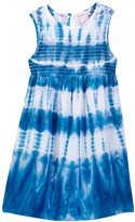 Design History Sleeveless Tie Dye Dress (Toddler & Little Girls)
