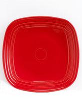 Fiesta Scarlet Square Dinner Plate