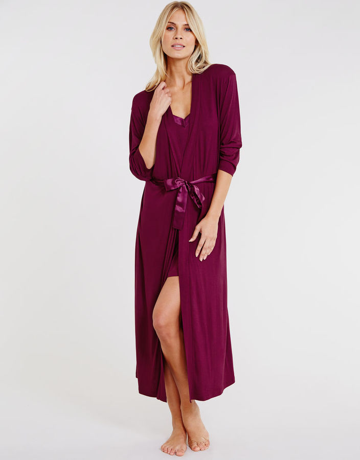 Figleaves nightwear Camelia Soft Touch Robe