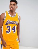 Mitchell & Ness Nba L.a. Lakers Swingman Vest