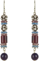 Etro Crystal and bead-embellished earrings