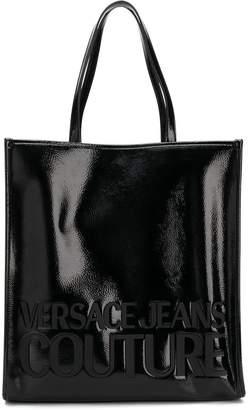 Versace patent tote bag