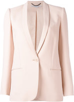 Stella McCartney matte single-button blazer