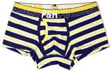 Pink Hero Hot Sale Male Underwear Men's Stripe Yarn-Dyed Cotton Boxers