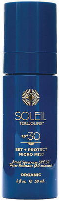 Soleil Toujours Organic Set + Protect Micro Mist SPF 30 in | FWRD