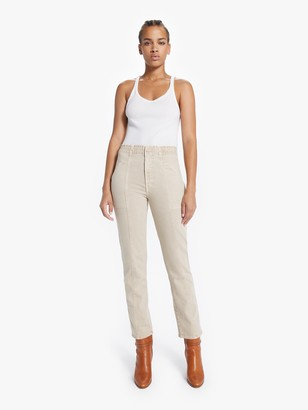Mother The Springy Ankle -Sand Beige