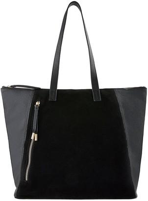 Accessorize Phoebe Leather Shopper - Black