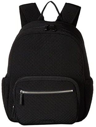Vera Bradley Iconic Backpack Baby Bag (Classic Black) Backpack Bags