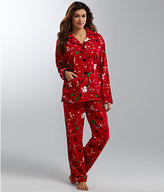 PJ Salvage Fox Flannel Pajama Set