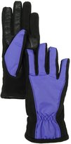 Isotoner SmarTouch Matrix Nylon Gloves; M/L