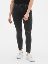 Gap Mid Rise True Skinny Ankle Jeans