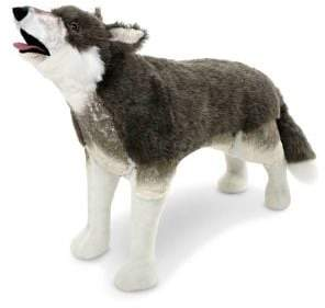 Melissa & Doug Plush Wolf Stuffed Toy