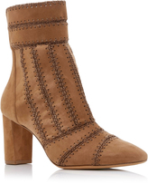 Alexandre Birman Beatriceh Suede Ankle Boots