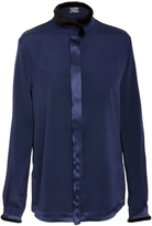 Alexis Mabille Long Sleeve Blouse