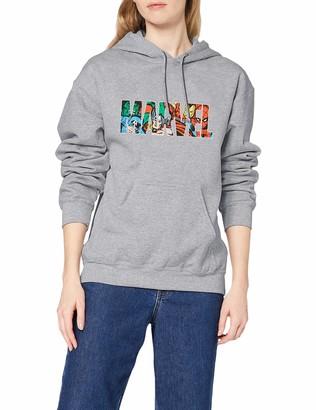 Marvel Women's Logo Character Infill Sweatshirt