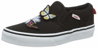 Vans ASHER VN0A38DS Slip On Trainers Girls