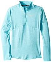 Nike Dry Element 1/2 Zip Running Top Girl's Clothing