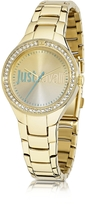 Just Cavalli Just Shade 3H Gold Tone Stainless Steel Women's Watch