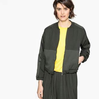 La Redoute Collections Dual Fabric Bomber Jacket