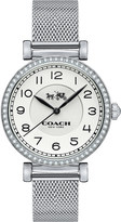 Coach Stone-set stainless steel watch