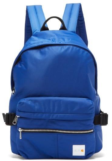 A.P.C. X Carhartt Nylon Backpack - Mens - Blue