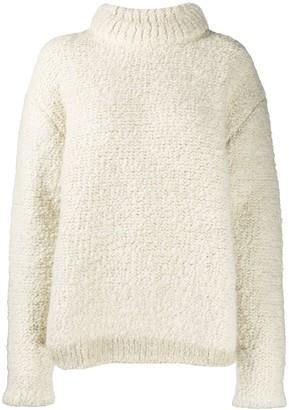 Jil Sander Textured Oversized Knitted Jumper