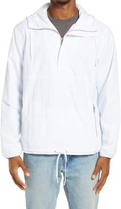 BP Cagoule Hooded Nylon Popover Jacket