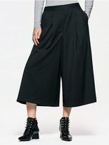 Calvin Klein Platinum Wool Wide Pants
