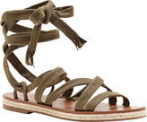 Lucky Brand Women's Dalty Lace Up Sandal