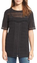 Hinge Women's Crochet Tunic