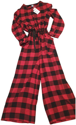 Woolrich Red Wool Jumpsuits