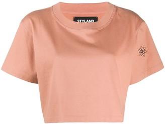 Styland Short-Sleeve Crop Top