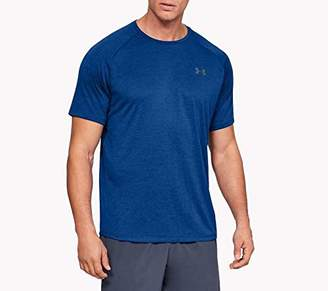 Under Armour Men's Tech 2.0 T-Shirt Breathable Sports Short Sleeve Quick Dry Loose Fit Training Shirt, Men, 1326413,XS