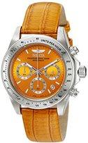 Invicta Women's 18368 Speedway Analog Display Japanese Quartz Orange Watch