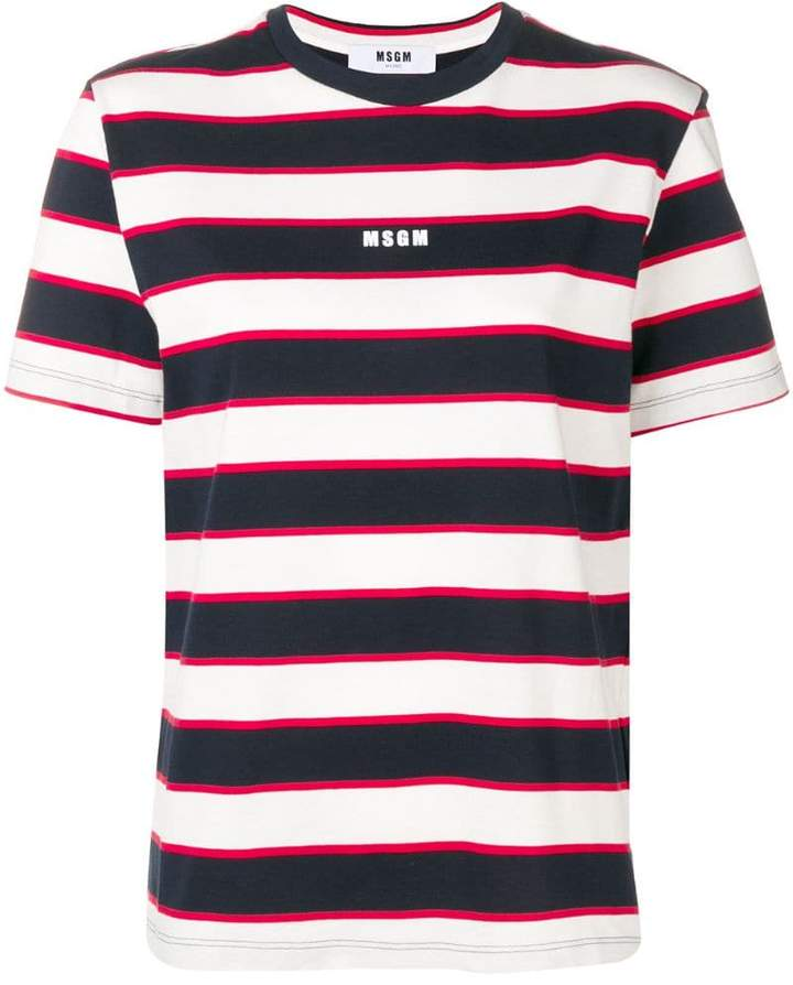 c99000ee664a89 Msgm Striped Top - ShopStyle