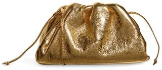 Bottega Veneta The Mini Metallic Leather Pouch Bag
