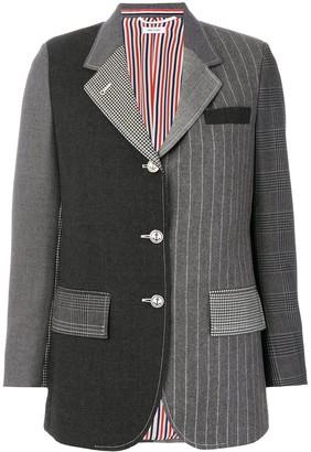 Thom Browne Classic Patchwork Blazer