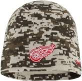 Reebok Men's Camo Detroit Red Wings Digi Camo Knit Beanie
