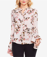 Vince Camuto Flare-Sleeve Blouse